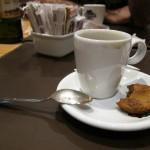 Café com cookie é maciozinho